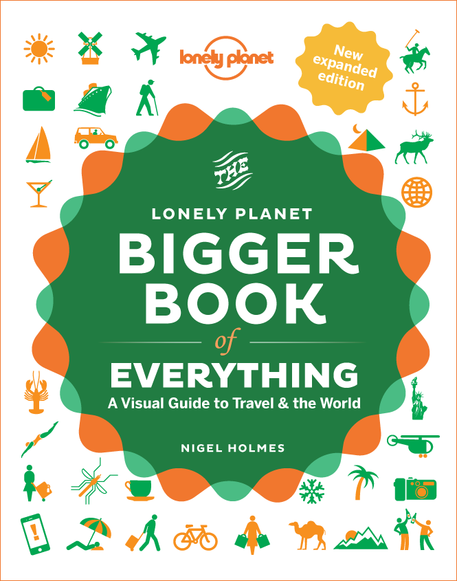 The Bigger Book of Everything: A Visual Guide to Travel and the World